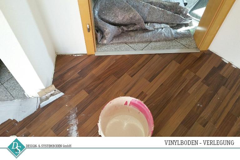 Design- & Systemboden GmbH Produkte Vinylboden Verlegung