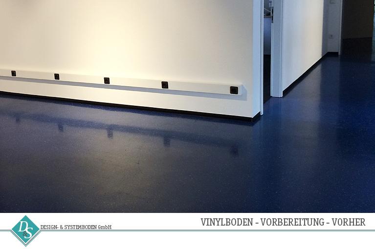 Design- & Systemboden GmbH Produkte Vinylboden vorbereitung