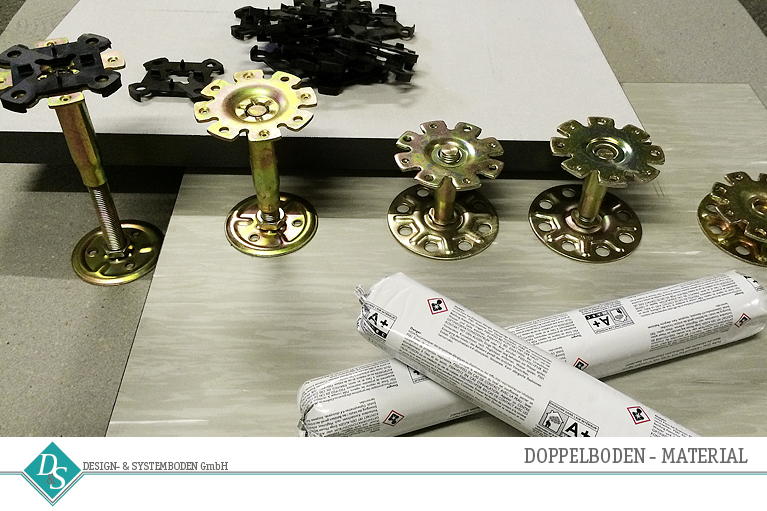 Design- & Systemboden GmbH Produkte Doppelboden Material