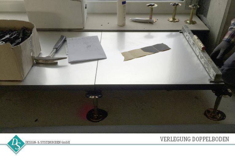 Design- & Systemboden GmbH_ Produkte Doppelboden Verlegung
