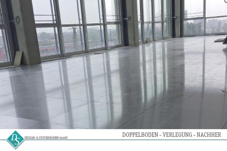 Design- & SystembodenGmbH Produkte Doppelboden Verlegung