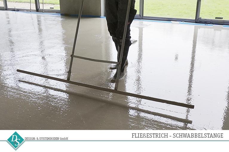 Design- & Systemboden GmbH Produkte Hohlraumboden Fließestrich Schwabbelstange