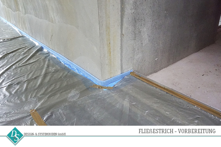 Design- & Systemboden GmbH Produkte Hohlraumboden Fließestrich Vorbereitung