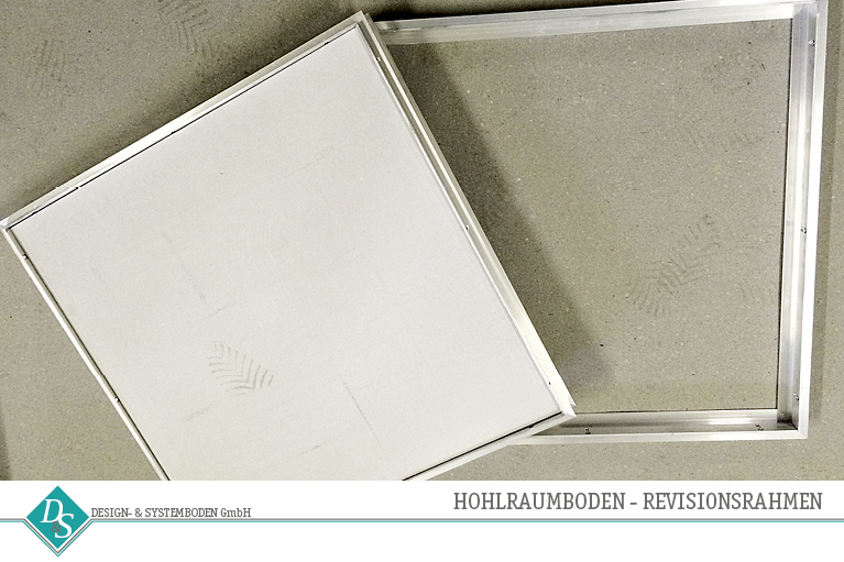 Design&SystembodenGmbH_Produkte_Hohlraumboden_Revisionsrahmen
