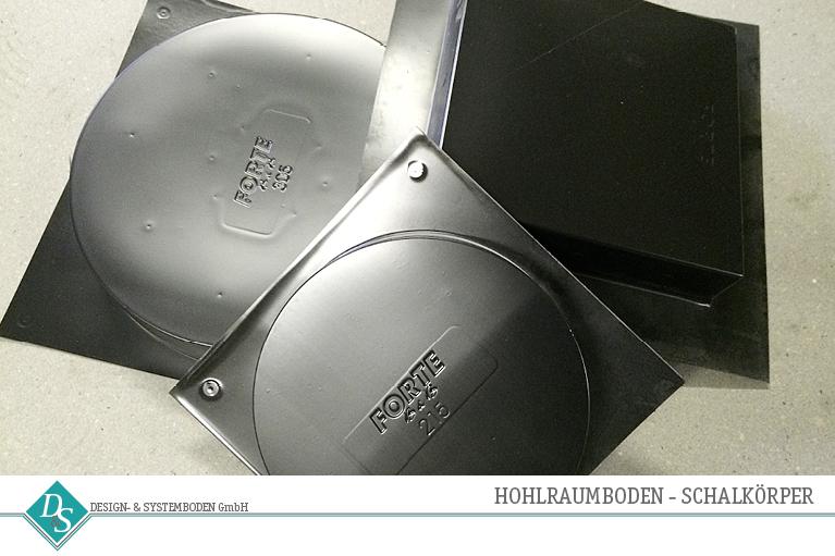 Design- & Systemboden GmbH Produkte Hohlraumboden Schalkörper