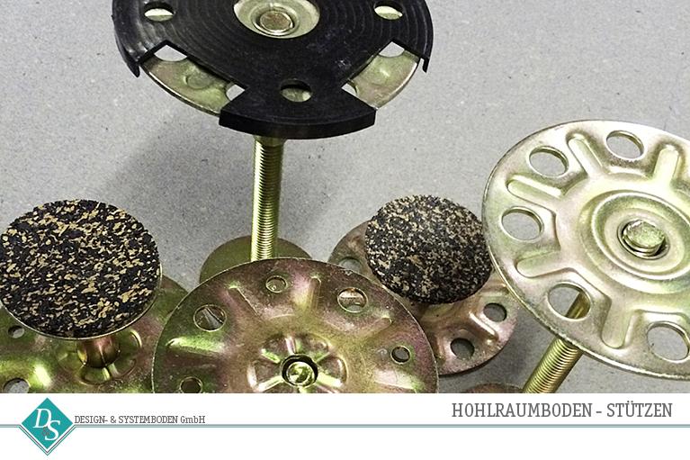 Design- & Systemboden GmbH Produkte Hohlraumboden Stützen