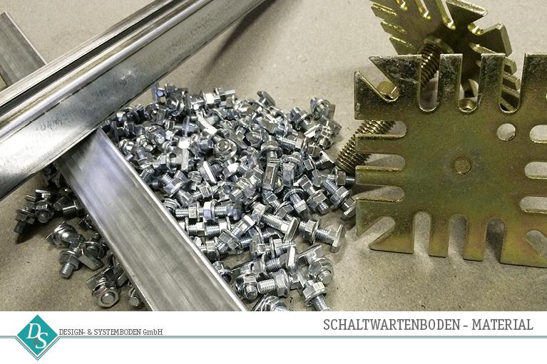Design- & Systemboden GmbH Produkte Schaltwartenboden Material