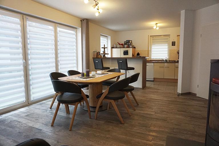 design systemboden vinylboden esszimmer