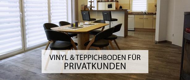 designboden systemboden vinylboden verlegen Münsterland privatkunden