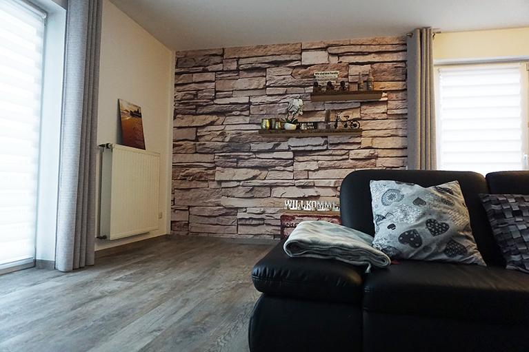 design systemboden vinylboden wohnbereich